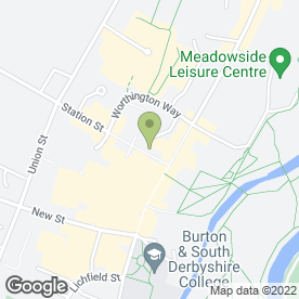 Map of Timpson Locksmith & Safe Engineers in Burton-On-Trent, staffordshire