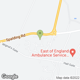 Map of Co-Operative Personal Travel Advisors in Holbeach, Spalding, lincolnshire