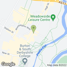 Map of R D Beauty in Burton-On-Trent, staffordshire