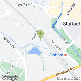 Map of FILLING STATION PALMBOURNE CATERING in Stafford, staffordshire