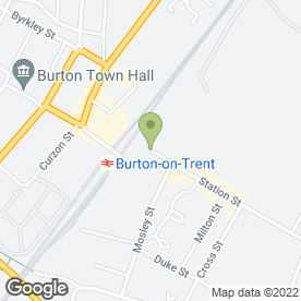 Map of ACTIVITY ONE in Burton-On-Trent, staffordshire
