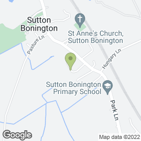Map of J.R Winton in Sutton Bonington, Loughborough, leicestershire