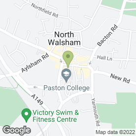 Map of Lloyds TSB Bank plc in North Walsham, norfolk
