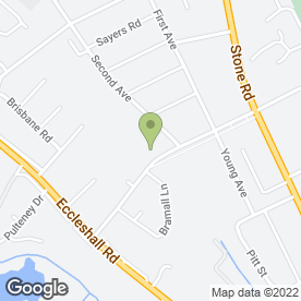 Map of Holmcroft Pre-School Playgroup in Stafford, staffordshire