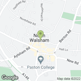 Map of SKIN DEEP in North Walsham, norfolk