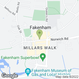 Map of Independence Travel in Fakenham, norfolk