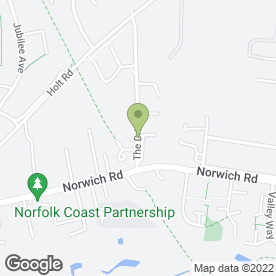 Map of NCS Carpet Warehouse in Fakenham, norfolk