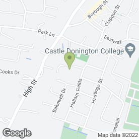 Map of Trans European Site Services (TESS) Ltd in Castle Donington, Derby, derbyshire