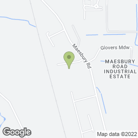 Map of P J Scaffolding Ltd in Oswestry, shropshire