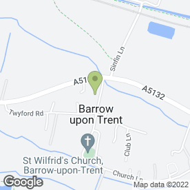 Map of Derby Gas Services in Barrow On Trent, Derby, derbyshire