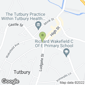 Map of Michael's Drink Store in Tutbury, Burton-On-Trent, staffordshire