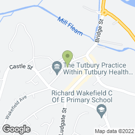 Map of Dove River Practice in Tutbury, Burton-On-Trent, staffordshire