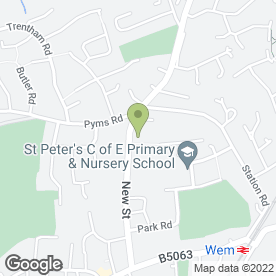 Map of Wem & Prees Medical Practice in Wem, Shrewsbury, shropshire