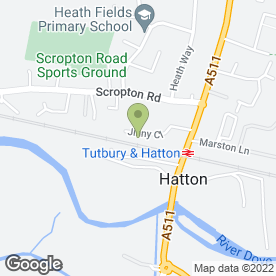 Map of Hatton Buildbase in Derby, derbyshire