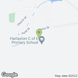 Map of Harlaxton Surgery in Harlaxton, Grantham, lincolnshire