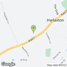 Map of HAIRY HOUNDS in Harlaxton, Grantham, lincolnshire