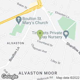 Map of CK Groundworks & Drainage in Alvaston, Derby, derbyshire