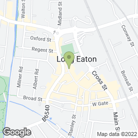 Map of Yeomans Outdoors in Long Eaton, Nottingham, nottinghamshire
