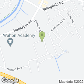 Map of Chris Ward Carpets in Grantham, lincolnshire