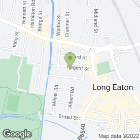 Map of The Long Eaton Dental Practice in Nottingham, nottinghamshire