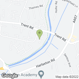 Map of M C Plastering in Grantham, lincolnshire