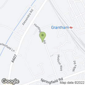 Map of BJS Removals in Grantham, lincolnshire