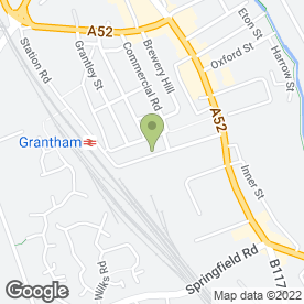 Map of OCFM Family Martial Arts in Grantham, lincolnshire