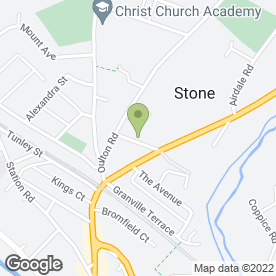 Map of D M C Sales & Service Ltd in Stone, staffordshire