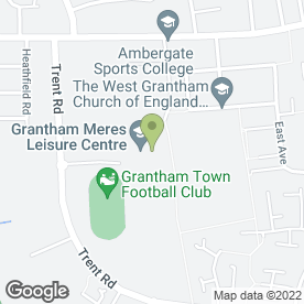 Map of Revolution Mixed Martial Arts (MMA) in Grantham, lincolnshire