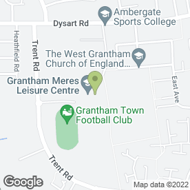 Map of Strikers Bar in Grantham, lincolnshire