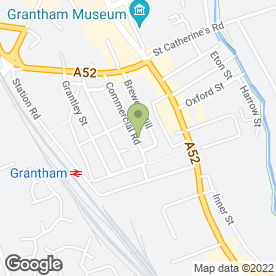 Map of UK Hair & Beauty in Grantham, lincolnshire
