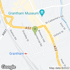 Map of Serenity Holistics & Beauty in Grantham, lincolnshire