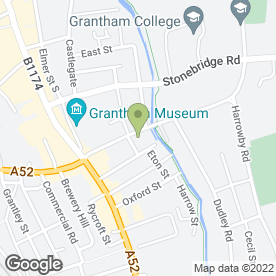Map of Elysium Beauty & Complementary Therapies in Grantham, lincolnshire