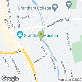 Map of Prime Chiropractic in Grantham, lincolnshire