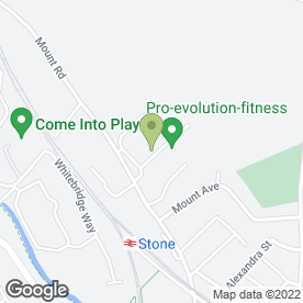 Map of Giggles & Wiggles in Stone, staffordshire