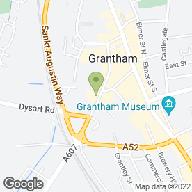 Map of Bargain Booze in Grantham, lincolnshire