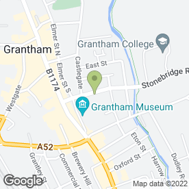 Map of Avenue Veterinary Centre in Grantham, lincolnshire