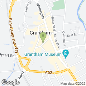 Map of Roma Travel in Grantham, lincolnshire