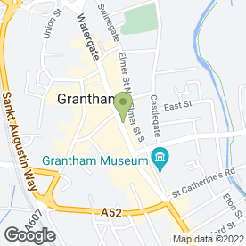 Map of Aesthenic Pearl in Grantham, lincolnshire