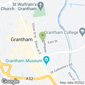 Map of Susan Birds Health & Beauty in Grantham, lincolnshire