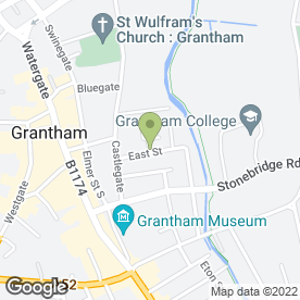 Map of Terry Ballaam Motor Engineer in Grantham, lincolnshire