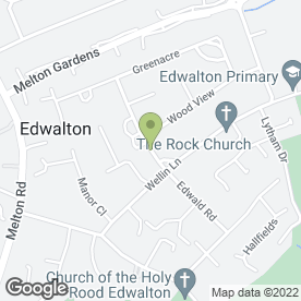 Map of D.C Hair Designers in Edwalton, Nottingham, nottinghamshire