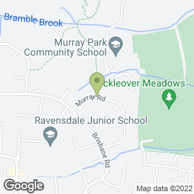 Map of B.D Domestic Appliances in Mickleover, Derby, derbyshire