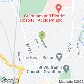 Map of Kandypop Nails in Grantham, lincolnshire