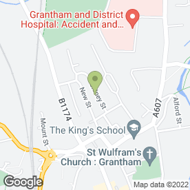 Map of Your Beauty Therapist & Hairdresser in Grantham, lincolnshire