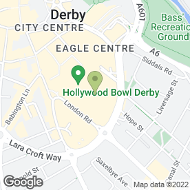 Map of Millies Cookies in Derby, derbyshire