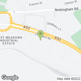 Map of The Meadows Inn in Derby, derbyshire