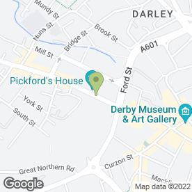 Map of Sylvan Angel in Derby, derbyshire