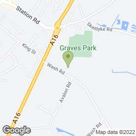 Map of Alarmline Security Systems in Kirton, Boston, lincolnshire