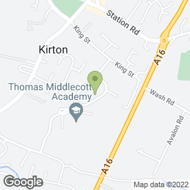 Map of A-s-a-Plastering in Kirton, Boston, lincolnshire